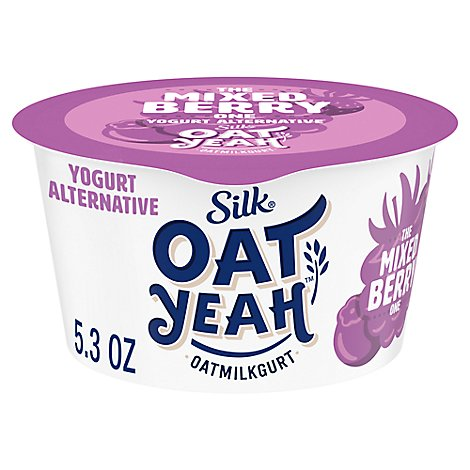 Silk Oat Yeah Yogurt Alternative The Mixed Berry One Oatmilkgurt - 5.3 Oz