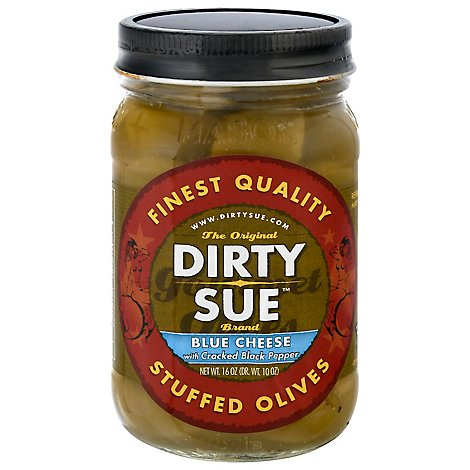Dirty Sue Blue Cheese Olives - 16 Oz