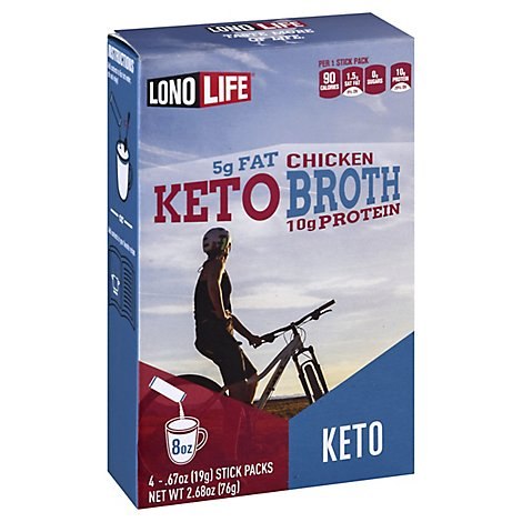 Lono Life Chicken Broth Keto - 4 Count