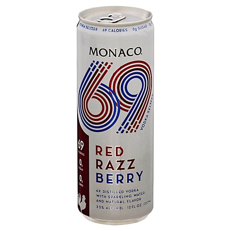 Monaco 69 Red Razz Berry - 12 Oz