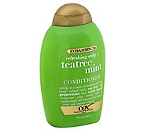 OGX Conditioner Extra Strength Refreshing Scalp + Tea Tree Mint - 13 Fl. Oz.