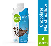 ZonePerfect Carb Wise Shake Concentrated Liquid - Chocolate Marshmallow - 4 - 11 fl oz