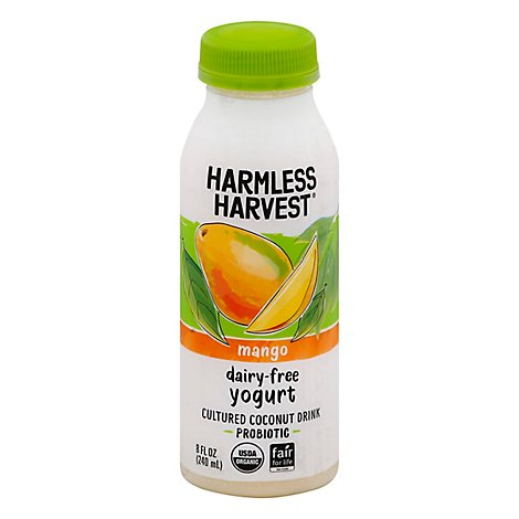 Harmless Yogurt Drink Dairy Free Mango - 8 Fo