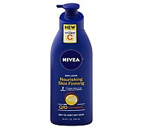 Nivea Body Lotion Nourishing Skin Firming With Q10 + Vitamin C - 16.9 Fl. Oz.