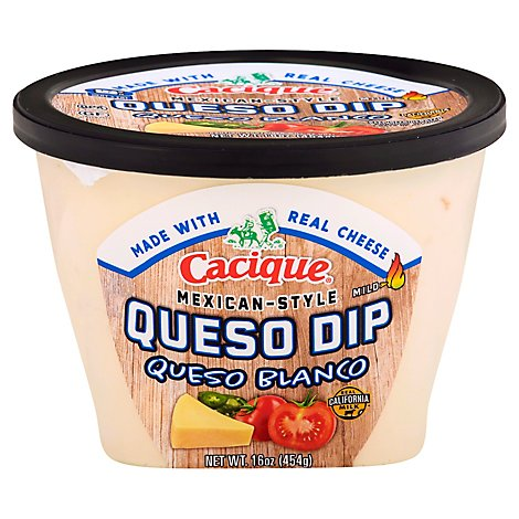 Cacique Blanco Queso Dip - 16 Oz