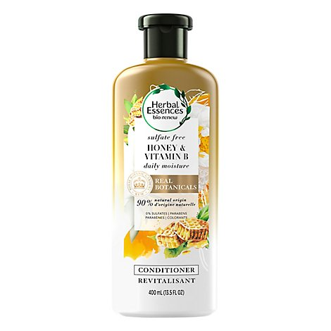 Herbal Essences Bio Renew Conditioner Sulfate Free Honey & Vitamin B - 13.5 Fl. Oz.