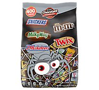 Mars Candies Assorted Chocolate Favorites 400 Count - 126.3 Oz