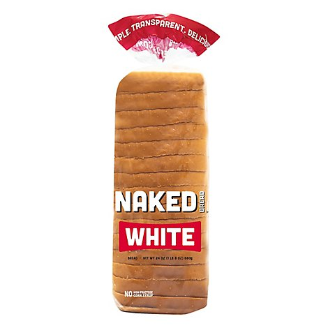Naked Bread White - 24 Oz