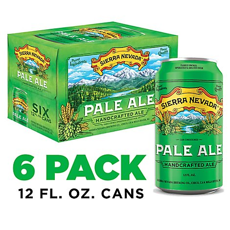Sierra Nevada Pale Ale Can - 6-12 Fl. Oz.