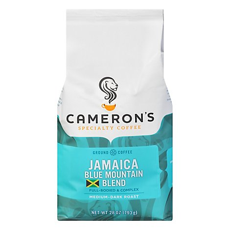 Camerons Jamaica Blue Mountain Ground - 28 Oz