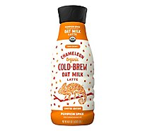 Chameleon Organic Pumpkin Spice Oat Milk Latte Cold Brew Coffee - 46 Fl. Oz.