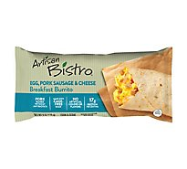 Artisan Bistro Burrito Breakfast Egg Pork Sausage & Cheese - 6 Oz