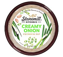 Stonemill Kitchens Dip Premium Creamy Onion - 6-10 Oz