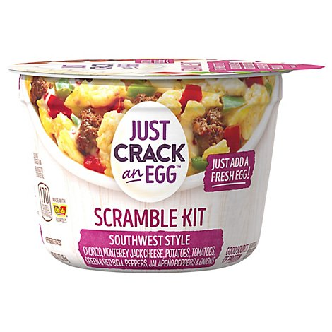 Ore Ida Just Crack An Egg Scramble Kit Southwest Style - 3 Oz