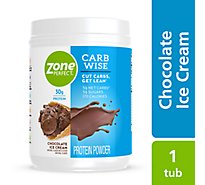 ZonePerfect Carb Wise Protein Powder Chocolate Ice Cream - 22.4 Oz