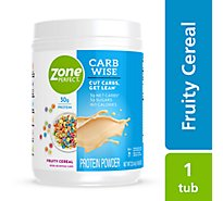 ZonePerfect Carb Wise Protein Powder Fruity Cereal - 22.4 Oz