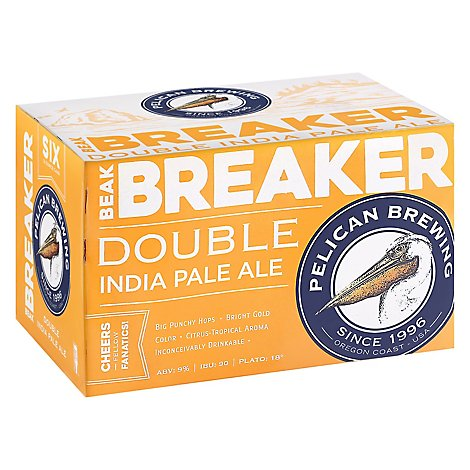 Pelican Beak Breaker Ipa In Cans - 6-12 Fl. Oz.