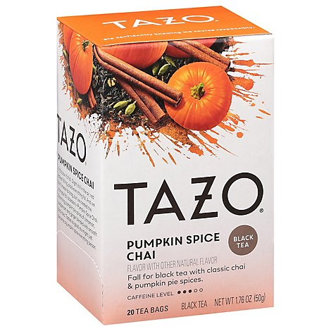 Tazo Pumpkin Spice Tea Bag - Each