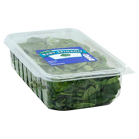 Signature Farms Spinach Baby Clamshell - 10 Oz
