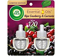 Air Wick Essential Oils Scented Oil Refills Wild Berries - 2-0.67 Fl. Oz.