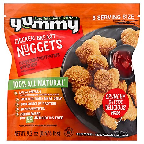 Yummy Chicken Breast Nuggets - 9.2 Oz