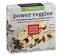 Good Food Flatbread Power Veggie - 8.8 Oz