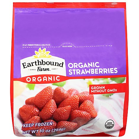 Earthbound Farm Organic Strawberries - 10 Oz