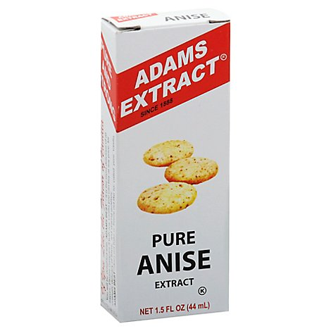 Adams Pure Anise Extract - 1.5 Fl. Oz.