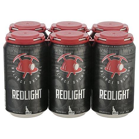 Wallace Redlight Irish Red Ale In Cans - 6-12 Fl. Oz.