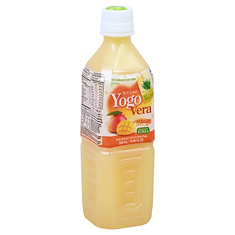 Wang Yogo Vera Soft Drink Non Carbonated Mango - 16.89 Fl. Oz.