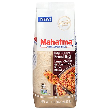 Mahatma Long Grain & Jasmine Rice Blend For Fried Rice - 16 Oz