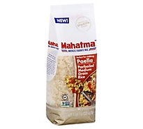 Mahatma Parboiled Medium Grain Rice For Paella - 16 Oz
