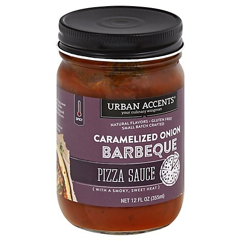 Urban Accents Sauce Pzza Crml Onion Bbq - 12 Oz