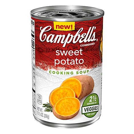 Campbells Condensed Soup Sweet Potato - 10.5 Oz
