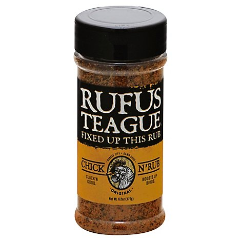 Rufus Teague Rub Chicken - 6 Oz