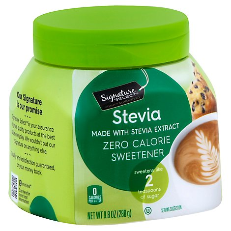 Signature SELECT Sweetener Stevia Canister - 9.8 Oz