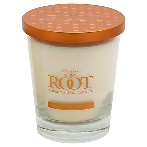Root Candle French Vanilla Veriglass Large 10.5 Ounce - Each