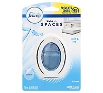 Febreze Small Spaces Air Freshener Linen & Sky - 0.25 Fl. Oz.