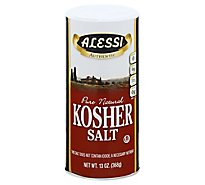 Alessi Salt Pure Natural Kosher - 13 Oz
