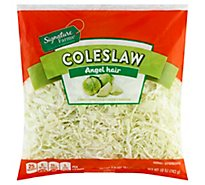 Signature Farms Cole Slaw Angel Hair - 10 Oz