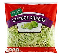 Signature Farms Lettuce Shreds - 8 Oz