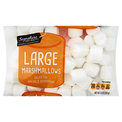 Signature Select Marshmallows Large - 12 Oz