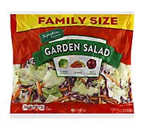 Signature Farms Salad Garden Family Size - 24 Oz