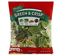 Signature Farms Garden Green & Crisp Salad - 11 Oz