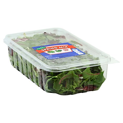 Signature Farms Spring Mix Clamshell - 10 Oz