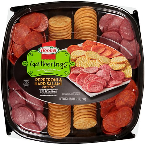 Hormel All Meat Party Tray 24/28 Oz - 28 Oz