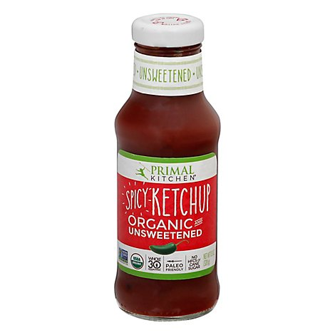 Primal Kitchen Ketchup Unswtnd Spicy Org - 11.3 Oz
