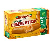 New York Bakery Cheese Sticks 3 Cheese 5 Count - 12.9 Oz