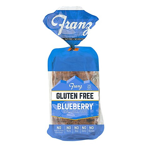 Franz Gluten Free Blueberry Bread - 18 Oz