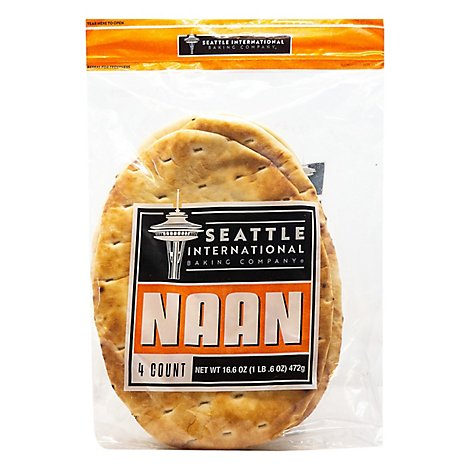 Seattle International Naan Bread - 16.6 Oz